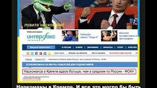 наркоманов в кремле вдвое больше чем в россии