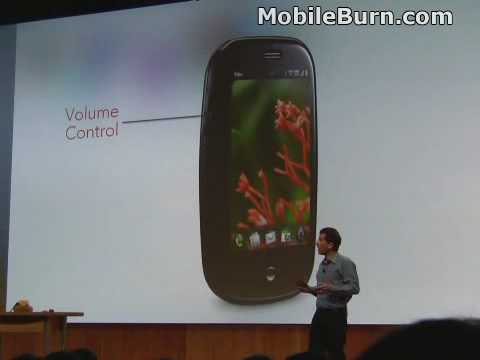 CES 2009 Launch of the Palm Pre and webOS