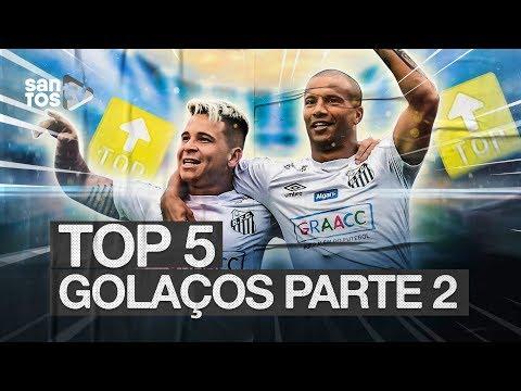 TOP 5 | GOLAÇOS DO SANTOS EM 2019 | PARTE 2