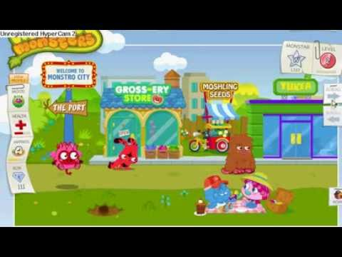 a day in the life of moshi monsters