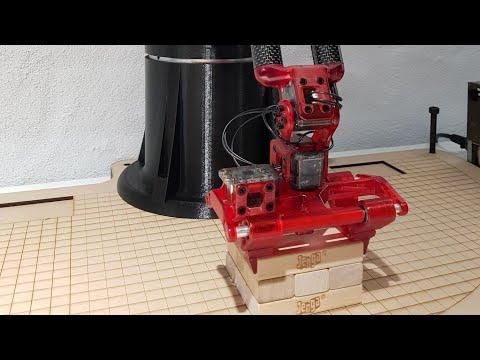 Jenga Tower stacking robot Arm | Tribotix