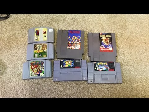 N64 SNES NES video game repair
