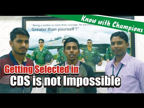 Interview With CDS-2 2017 Written Qualified Student   CDS II 2017