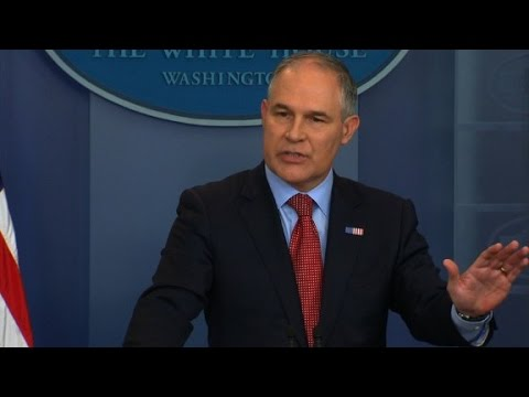 EPA chief: US has nothing to apologize for