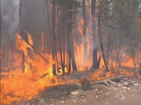 Fierce Wildfires Spreading in Utah, California