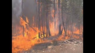 Fierce Wildfires Spreading in Utah, California