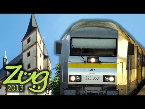 Zug2013: RE6 Leipzig - Geithain - Burgstädt - Chemnitz Doku Teil 2