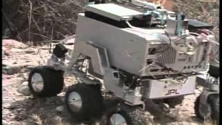 Mars Pathfinder: Landing Site Computer Animation; Rocky IV