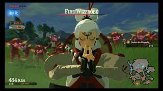 Hyrule Warriors Age Of Calamity Demo Chapter 1 Korok Seeds The Battle Of Hyrule Field Youtube