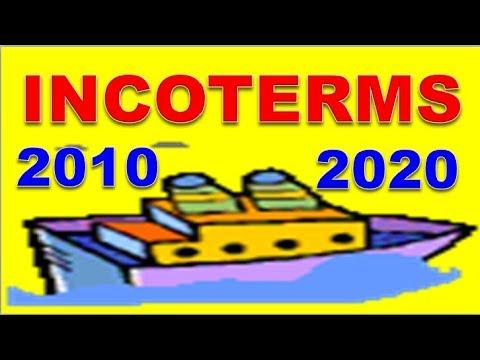 Điều kiện CIF, CFR, FOB, CNI | Incoterms 2020 & 2010 tiếng việt