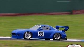 700HP 20B Turbo RX7 Race Start and Crash
