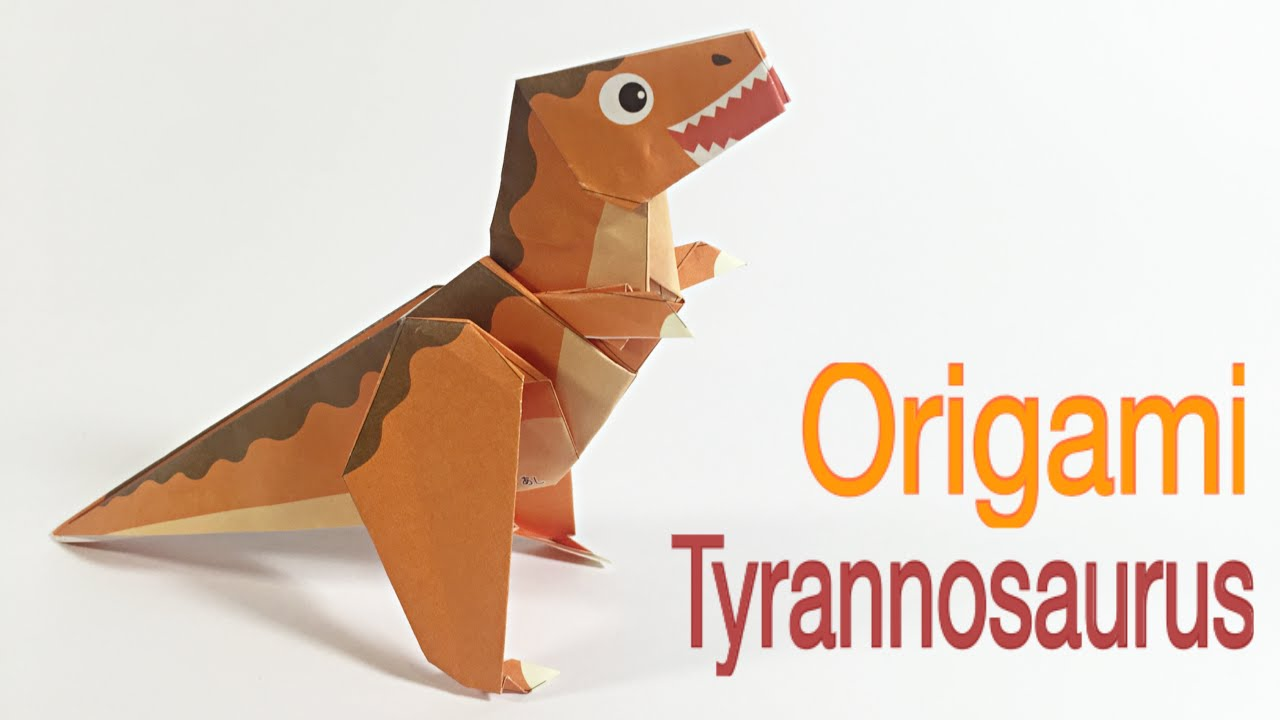 Image result for origami dinosaur drawing | Origami set, Origami ... | 720x1280