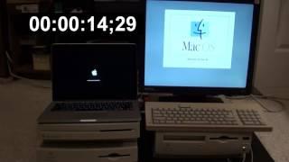2013 Retina MBP vs Performa 6200CD Startup Race!