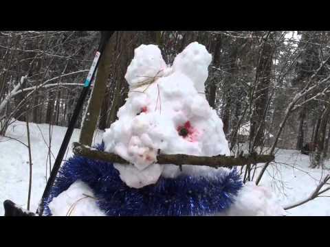 Семейное телевидение. Конкурс снеговиков