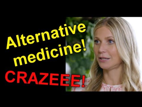Alternative medicine drives me CRAZY!