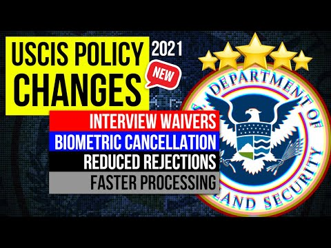 USCIS Policy Changes for Green card & Visa: Interview Waivers, Biometric Cancellation, Fast proces..