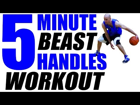How To: Improve Your Ball Handling! 5 Minute Basketball BEAST Workout