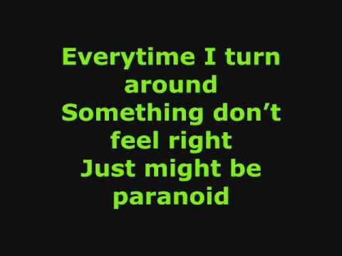 Paranoid(lyrics)-Jonas Brothers