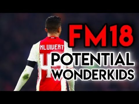 Football Manager 2018 Potential Wonderkids - The Full List