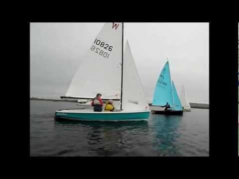 wayfarer enterprise  crash in light wind  sailing ireland