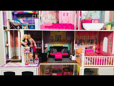 Barbie House! Pink! Best Barbie House remodel!