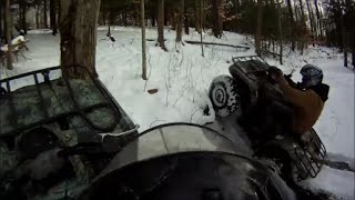 ATV Snow Day!