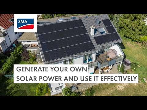 Generate your own solar power and use it effectively