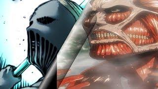 Attack on Titan: WarHammer Titan vs Colossal Titan Who Would Win?