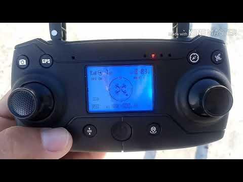 Como programar o drone KY601G GPS 2000 metros