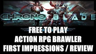 ChronoBlade - Free to Play Brawler with ARPG Twist (Gameplay and First Impressions Review)