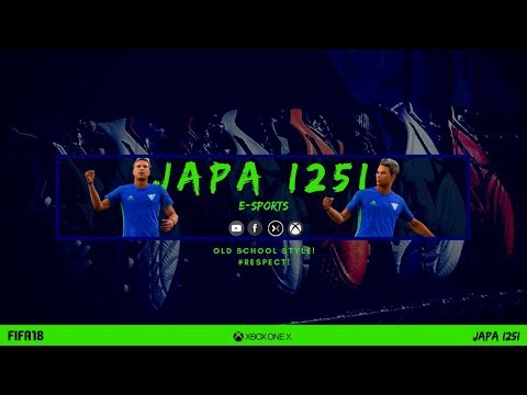 JAPA I25I Fifa 18 Pro Clubs E Sports Vol. 20