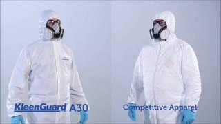 видео Одноразовая спецодежда для химической защиты