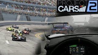 PROJECT CARS 2 (PC) - Arrancamos con lluvia en GT3 y probando la IndyCar en Oval || Gameplay Español