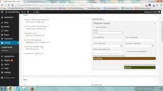 видео Contact Form 7 — Плагины для WordPress