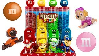 Best Learning Colors Video for Children Paw Patrol Eat Count M&M's | Fizzy Fun Toys