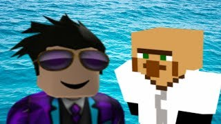 Minecraft PVP and Roblox Flood Escape!