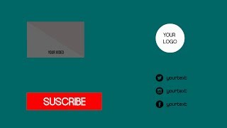 Outro #2 | Template Editable Sony Vegas