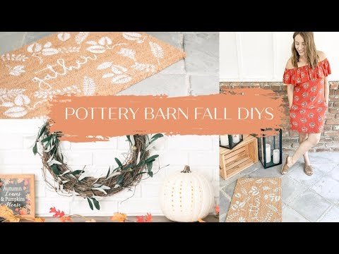 3 DIY Fall Decor Ideas for $10 or Less   Pottery Barn Inspired
