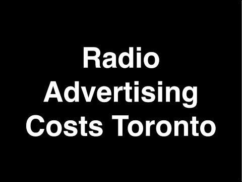 Radio Advertising Costs Toronto   Toronto Radio Advertising