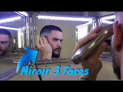 Mon Miroir Barbier A 3 Faces Degrade Soi Meme Youtube