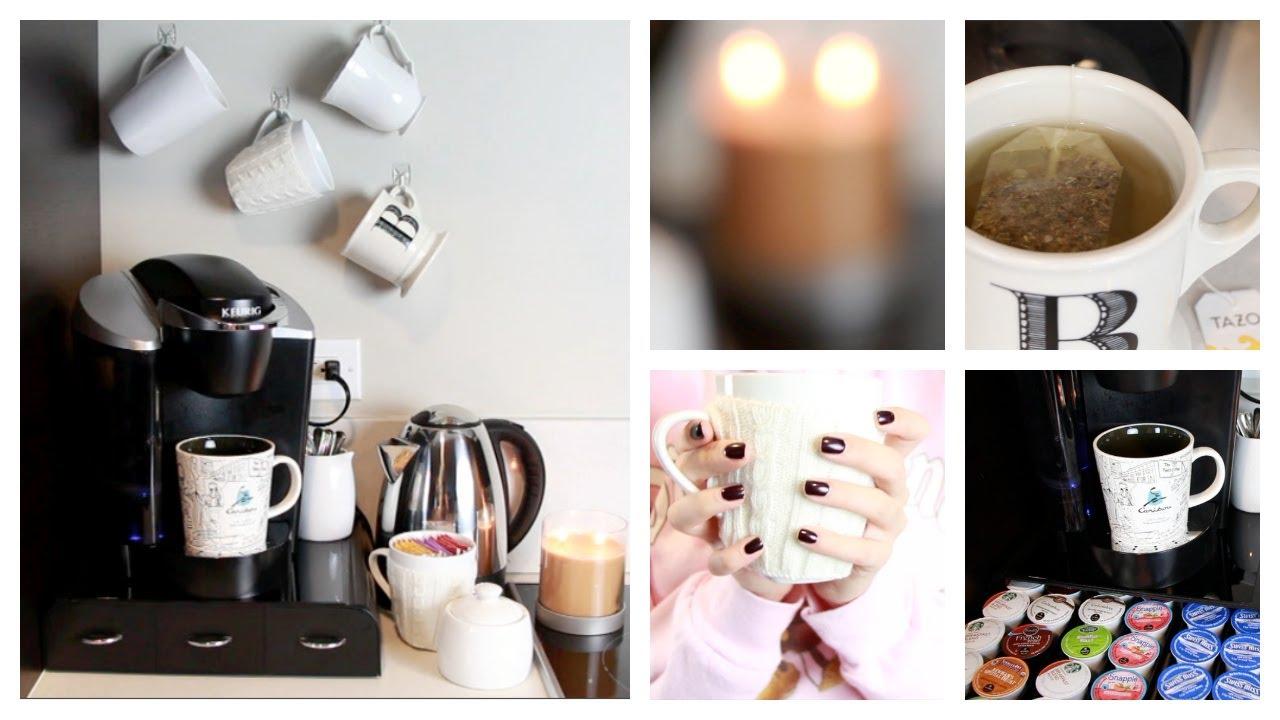 diy at home coffee tea bar blair fowler youtube. Black Bedroom Furniture Sets. Home Design Ideas
