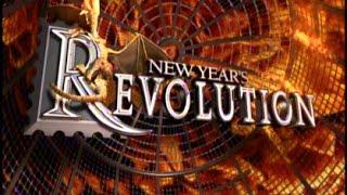 wwe new years revolution svr 2006 elimination chamber match