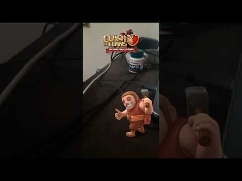 Clash of Clans Builder Update: Cool Augmented Reality Video via Facebook Camera | 15 Aug 2017