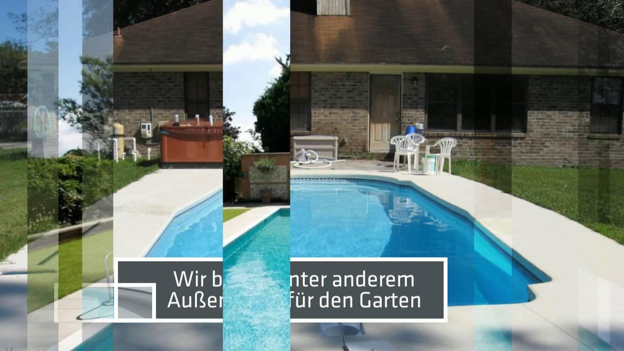 GFK Becken Rechteckig YouTube ~ 08091943_Gartenteich Becken Rechteckig