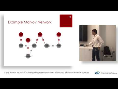 Sujay Kumar: Knowledge Representation with Structured Semantic Feature Spaces