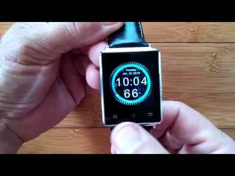No.1 D6 Android 5.1 Smartwatch: Fully Loaded Nova