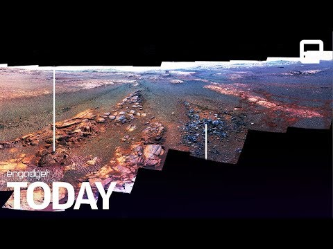Opportunity's last gift from Mars is a beautiful panorama