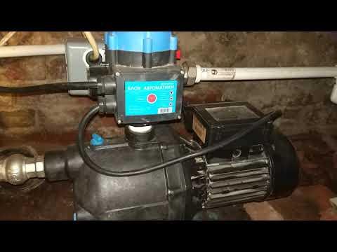 насосная станция с блоком автоматики джилекс и избыточное давление