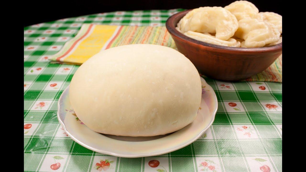 Простое тесто для вареников с картошкой