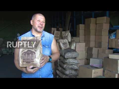 Russia: Charcoal named after US President Obama on sale in Novosibirsk